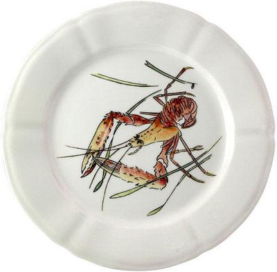 Gien - Assiette plate-Gien-Langoustine