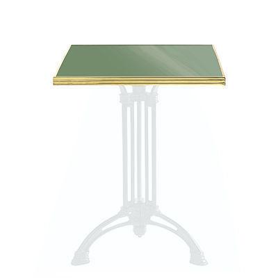 Ardamez - Plateau de table bistrot-Ardamez-Plateau de table de bistrot émaillée / réséda