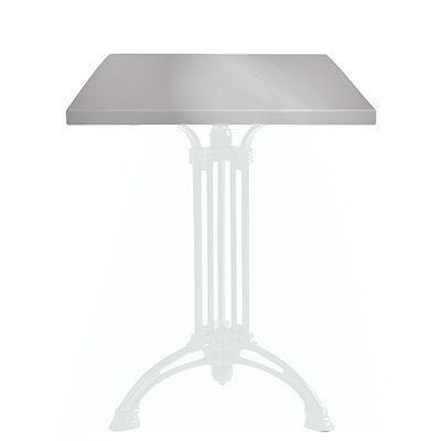 Ardamez - Plateau de table-Ardamez-Plateau de table �maill� sur acier / gris
