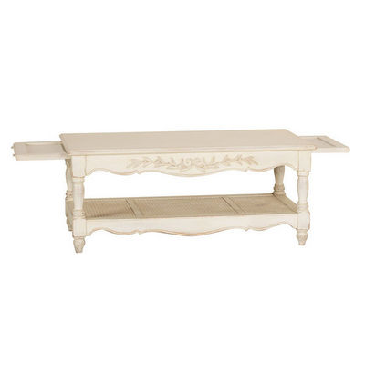 Interior's - Table basse rectangulaire-Interior's-Table basse rectangulaire cann�e
