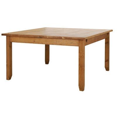 Interior's - Table de repas carrée-Interior's-Table carrée à allonge