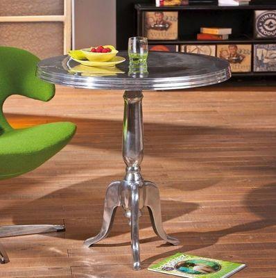 WHITE LABEL - Table basse forme originale-WHITE LABEL-Table basse design MISTURA en aluminium