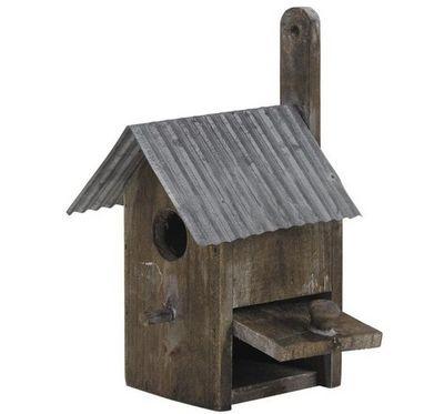 Aubry-Gaspard - Maison d'oiseau-Aubry-Gaspard-Nichoir oiseau bois et zinc