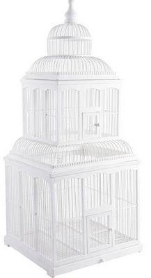 Aubry-Gaspard - Cage à oiseaux-Aubry-Gaspard-Cage bambou déco