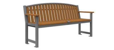 Maglin Site Furniture - Banc de jardin-Maglin Site Furniture-MLB450