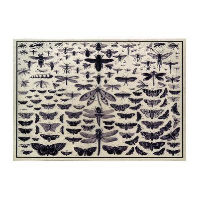 Interior's - Tableau d�coratif-Interior's-Tableau en lin Iris