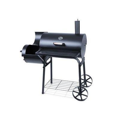 WHITE LABEL - Barbecue au charbon-WHITE LABEL-Barbecue charbon avec thermom�tre L