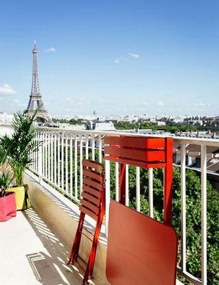 Fermob - Table de jardin-Fermob-Table balcon