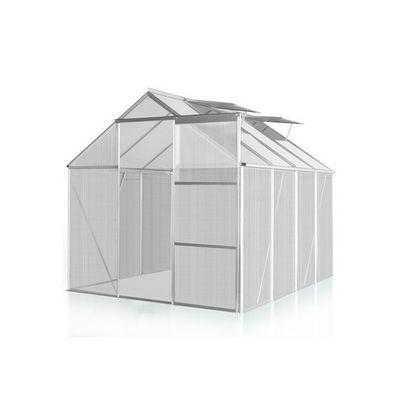 WHITE LABEL - Serre-WHITE LABEL-Serre polycarbonate 260 x 190 cm 5 m2