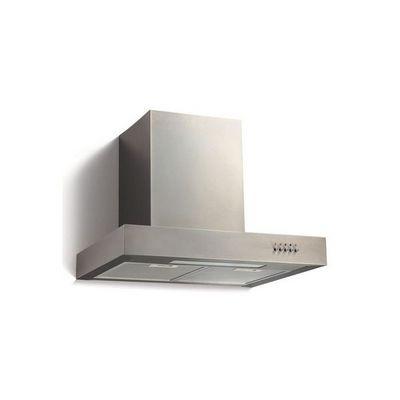 WHITE LABEL - Hotte aspirante de plafond-WHITE LABEL-Hotte cheminée aspirante acier inox