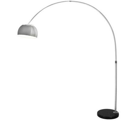 WHITE LABEL - Lampadaire-WHITE LABEL-Lampadaire arc lampe sur pied 1,90 m