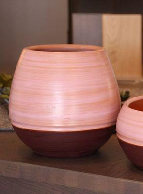 Les Poteries Clair de Terre - Vase à fleurs-Les Poteries Clair de Terre-Boldo