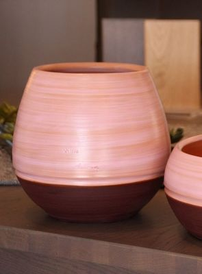 Les Poteries Clair de Terre - Vase � fleurs-Les Poteries Clair de Terre-Boldo