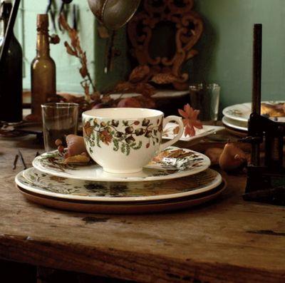 Gien - Tasse à thé-Gien-Chanterelle