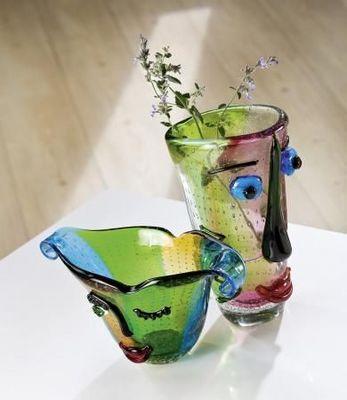 Gilde Handwerk Macrander - Vase à fleurs-Gilde Handwerk Macrander
