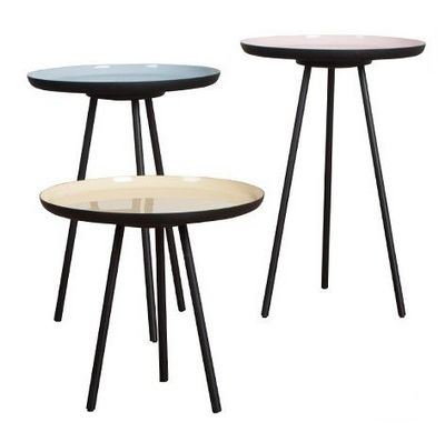 Mathi Design - Bout de canapé-Mathi Design-Set de 3 Tablettes