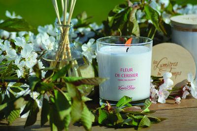LES LUMI�RES DU TEMPS - Bougie parfum�e-LES LUMI�RES DU TEMPS-Fleur de Cerisier