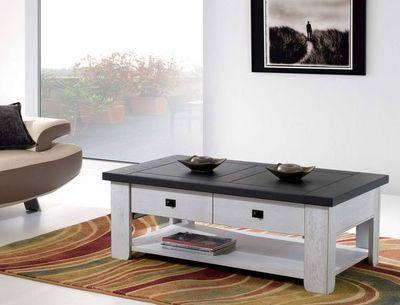 Ateliers De Langres - Table basse rectangulaire-Ateliers De Langres-WHITNEY