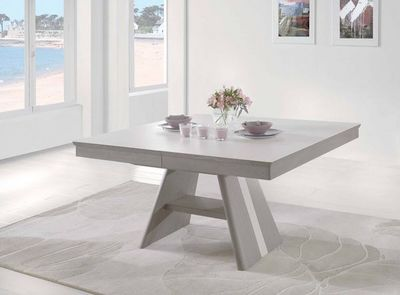 Ateliers De Langres - Table de repas carr�e-Ateliers De Langres-DEAUVIL