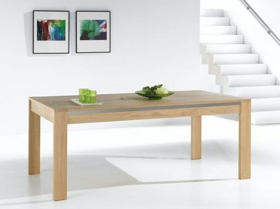 Ateliers De Langres - Table de repas rectangulaire-Ateliers De Langres-YUCCA
