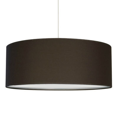 Metropolight - Suspension-Metropolight-NATT - Suspension occultant Ø48cm Chocolat | Suspe
