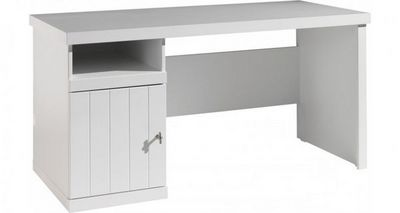 WHITE LABEL - Bureau-WHITE LABEL-Bureau ROBIN design laque blanc