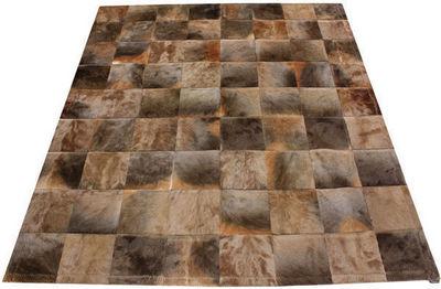 Tergus - Tapis de cuir-Tergus-Tapis peau de blesbok naturel