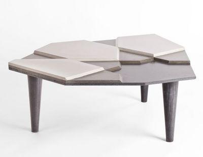 MALHERBE EDITION - Table basse forme originale-MALHERBE EDITION-Table basse Fragment Béton