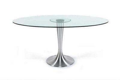 KOKOON DESIGN - Table de repas ronde-KOKOON DESIGN-Table design Ovalina 160cm