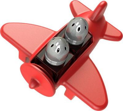 STANDARD GUM EASY - Sali�re et poivri�re-STANDARD GUM EASY-Sali�re poivri�re avion design Rouge