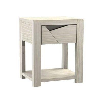 Girardeau - Table de chevet-Girardeau-Chevet 1 tiroir SYMPHONIE