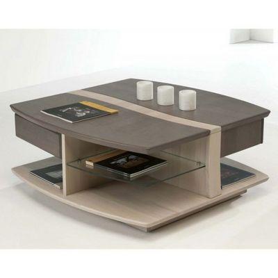 Ateliers De Langres - Table basse carrée-Ateliers De Langres-Table basse carrée OCEANE