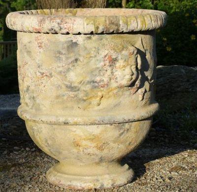TERRES D'ALBINE - Pot de jardin-TERRES D'ALBINE-Vase Languedocien
