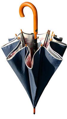 DE JOUY - Parapluie-DE JOUY-Bleu et rouge