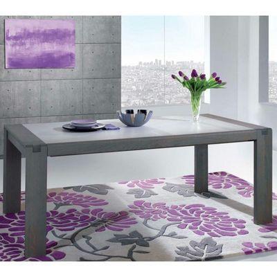 Ateliers De Langres - Table de repas rectangulaire-Ateliers De Langres-Table CERAM