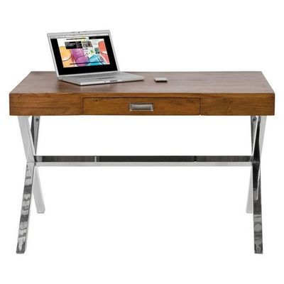 Kare Design - Bureau-Kare Design-Bureau en bois Manhattan Wood