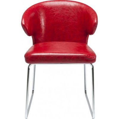 Kare Design - Chaise-Kare Design-Chaise Atomic rouge