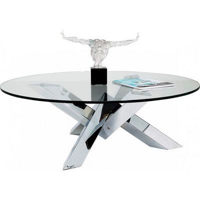 Kare Design - Table basse ronde-Kare Design-Table Basse Ronde Crystal Eco