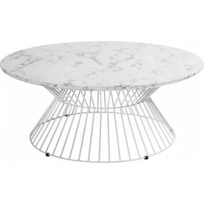 Kare Design - Table basse ronde-Kare Design-Table Basse Ronde Cintura 90 cm