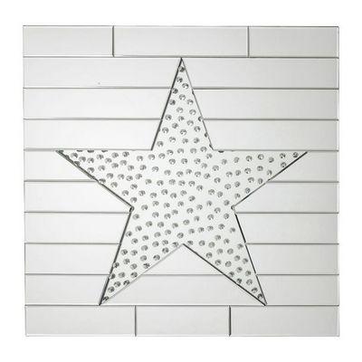Kare Design - Miroir-Kare Design-Miroir Star Raindrops 80x80cm