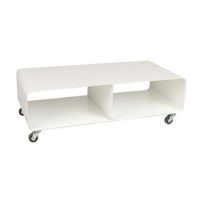 Kare Design - Meuble tv hi fi-Kare Design-Meuble TV Lounge Mobile Blanc