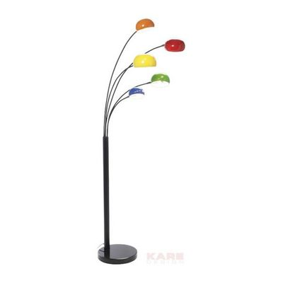 Kare Design - Lampadaire-Kare Design-Lampadaire Five Fingers Couleurs