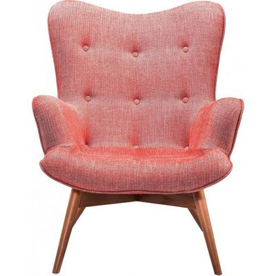 Kare Design - Fauteuil-Kare Design-Fauteuil Retro Angels Wings Rhythm carmin