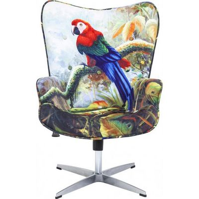 Kare Design - Fauteuil rotatif-Kare Design-Fauteuil de bureau Jungle Fever