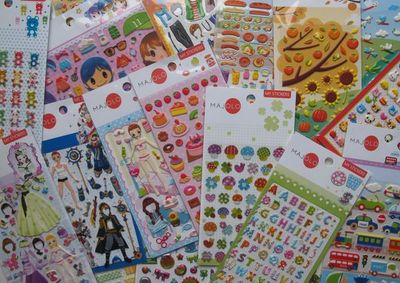MAJOLO - Jeux éducatifs-MAJOLO-Stickers