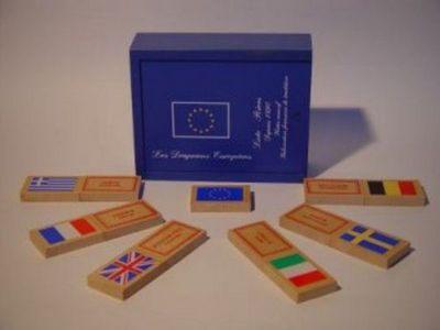 Loto Rives - Jeux éducatifs-Loto Rives-Les Drapeaux Européens