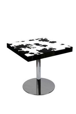 Etc Creations - Table de repas carrée-Etc Creations-Table diner fleur