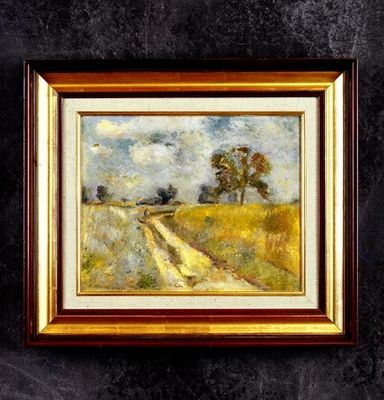 Bertrand Klein - Huile sur toile et huile sur panneau-Bertrand Klein-Les collines du Moenschberg