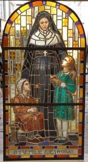 GALERIE MARC MAISON - Vitrail-GALERIE MARC MAISON-Stained glass window signed Louis Balmet