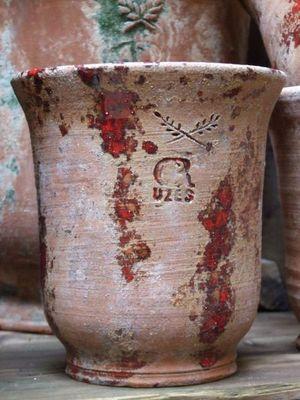CR UZES - Pot de jardin-CR UZES-CR Uzès antique